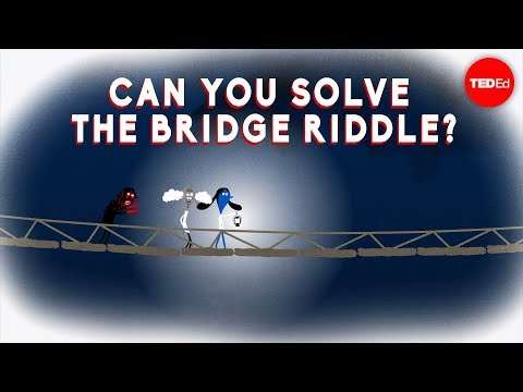 Video image: Can you solve the bridge riddle? - Alex Gendler