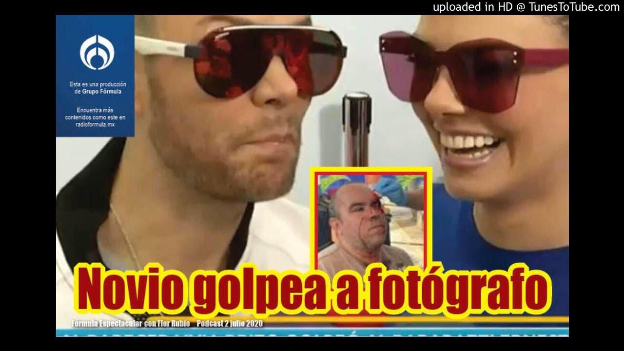 Livia Brito: novio acusado de golpear fotógrafo. Fórmula Espectacular con Flor Rubio. 2/7-1