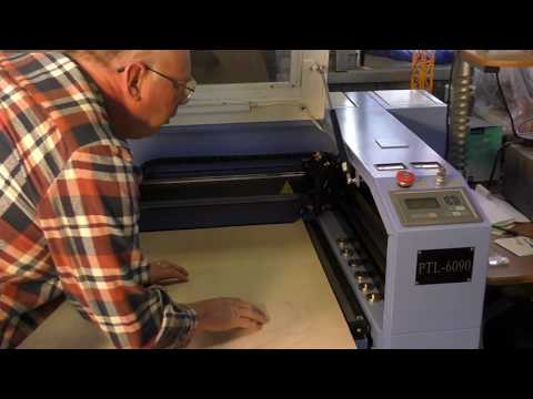 100w laser cutting a window panel making $3000+ per day