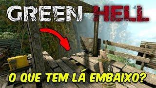 O QUE TEM LÁ EMBAIXO? É POSSÍVEL SOBREVIVER A QUEDA?! | Green Hell #8