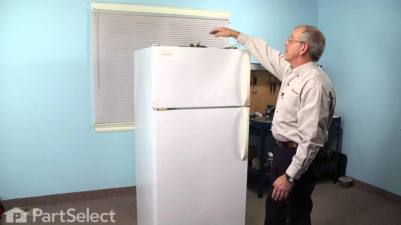Refrigerator Repair Replacing The Light Bulb Frigidaire