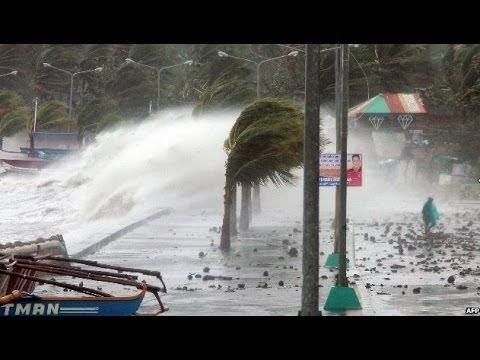 TYPHOON HAIYAN BATTERS THE PHILIPPINES - BBC NEWS