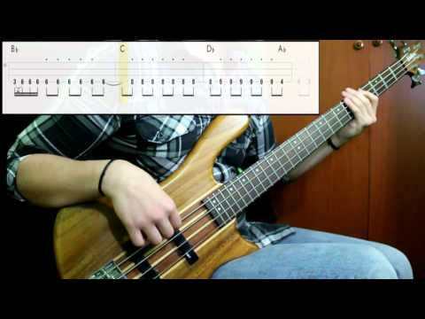 The Black Crowes - Nonfiction (Bass Cover) (Play Along Tabs In Video)