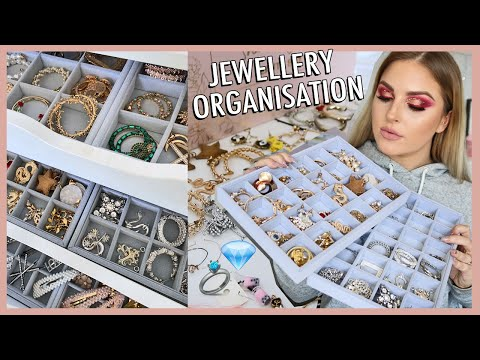 organising my JEWELLERY collection! 💍 storage inspiration