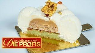 Popcorn-Mini-Kuchen mit flüssigem Kern | Verkostung | Das große Backen – Die Profis | SAT.1