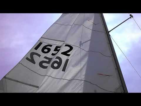 Chrysler 22 ,Sailing Wisper at Lake Huron, Caseville Michigan.