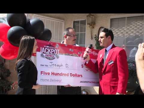 Station Casinos #JackpotPatrol Winner Joseph