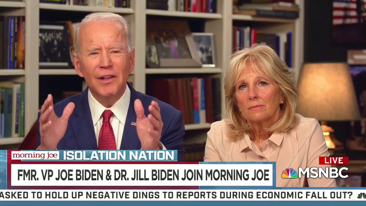 """Two Days After Trump Announced """"Opening Our Country"""" Council, Biden Says We Need One"""