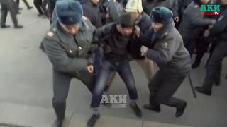 Разгон митинга на площади Ала-Тоо. Полная версия. Видео с дрона