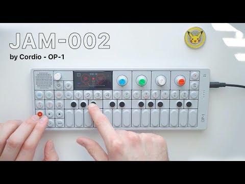 JAM-002 by Cordio - OP-1 Sampling & Lo-fi Hip-hop Beat Making Process from Scratch