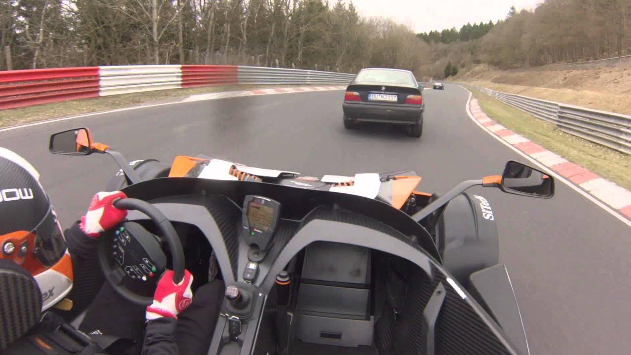 Nordschleife am 14.04.2013 im KTM X-BOW R onboard, Touristenfahrten, 2.Runde in 2013