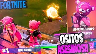 OSITOS INSATOS!! New Skin Valentine's Day!! | FORTNITE: Battle Royale ? Rubinho vlc