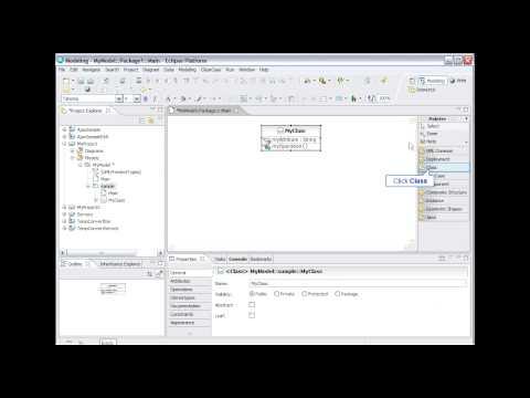 IBM Rational Software Delivery Platform: UML modeling (2 of 9)
