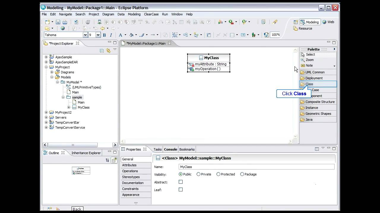 Ibm Rational Software Delivery Platform Uml Modeling 2 Of 9 Youtube