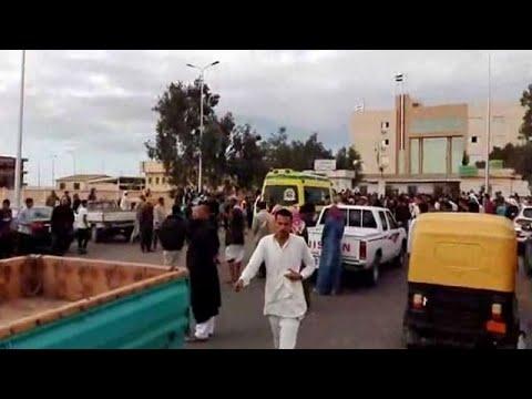 40 مسلحا وقذائف -آر بي جي-.. تعرف على تفاصيل هجوم مسجد الروضة الإرهابي بسيناء  - نشر قبل 3 ساعة