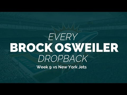 Every Brock Osweiler Dropback - Week 9 vs New York Jets