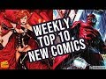 TOP 10 NEW KEY COMICS TO BUY FOR FEBRUARY 12TH 2020 - WEEKLY PICKS FOR NEW COMIC BOOKS  MARVEL / DC