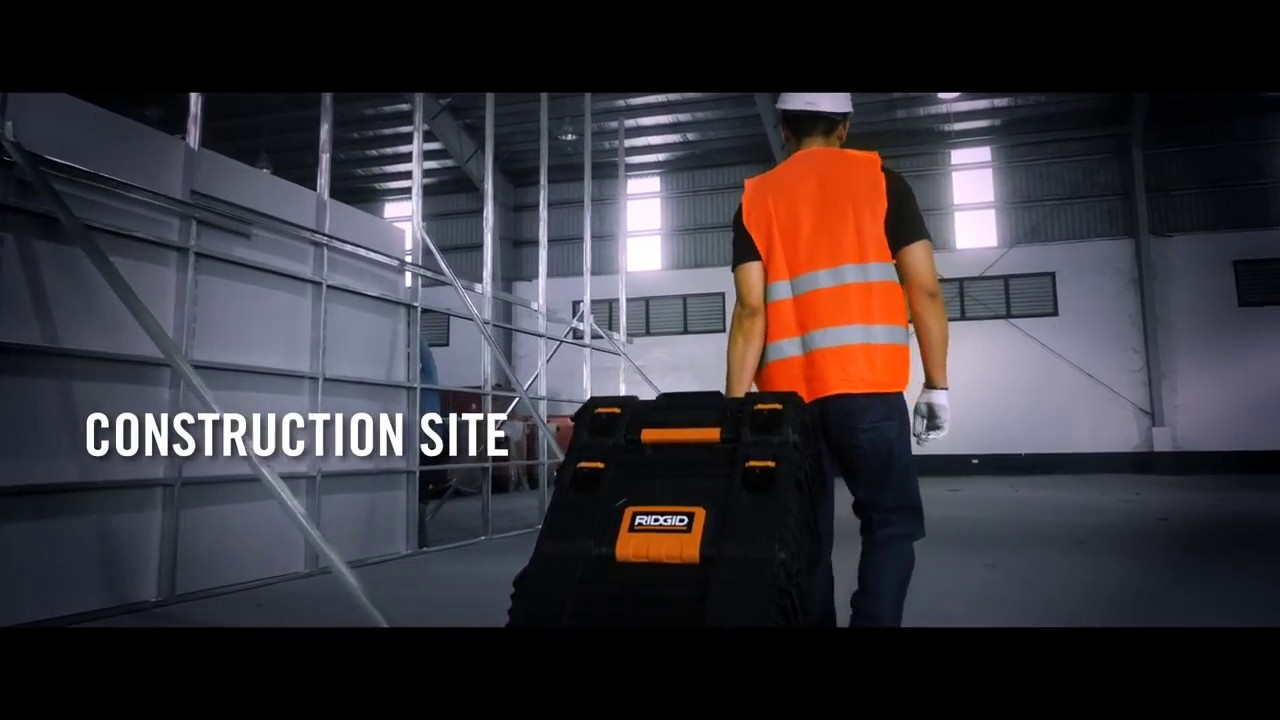 Ridgid 54358 Stack Professional Tool Storage System - YouTube