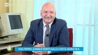 Estate: i disastri del maltempo - Unomattina Estate 11/07/2019