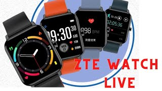 ZTE Watch Live    ZTE Watch Live Smartwatch   ZTE Watch Live Review