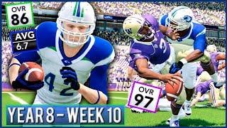 NCAA Football 14 Dynasty Year 8 - Week 10 @ Washington | Ep.140