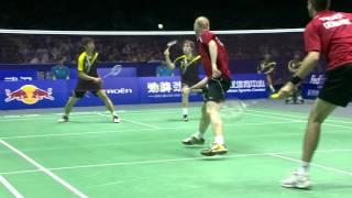 2012 MD-Thomas Cup-Semi Finals-Jonas RASMUSSEN_Joachim FISCHER NIELSEN vs. Yong Dae LEE_Sa Rang KIM
