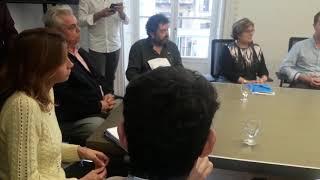 Maroto se reúne en Palma con agentes económicos