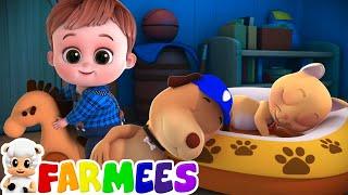 Rock a bye baby nursery rhymes for kids | Farmees | Baby songs to sleep | Baby lullaby songs