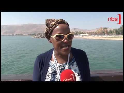 Ugandan Pilgrims 'Walk the Life of Jesus' on the Sea of Galilee