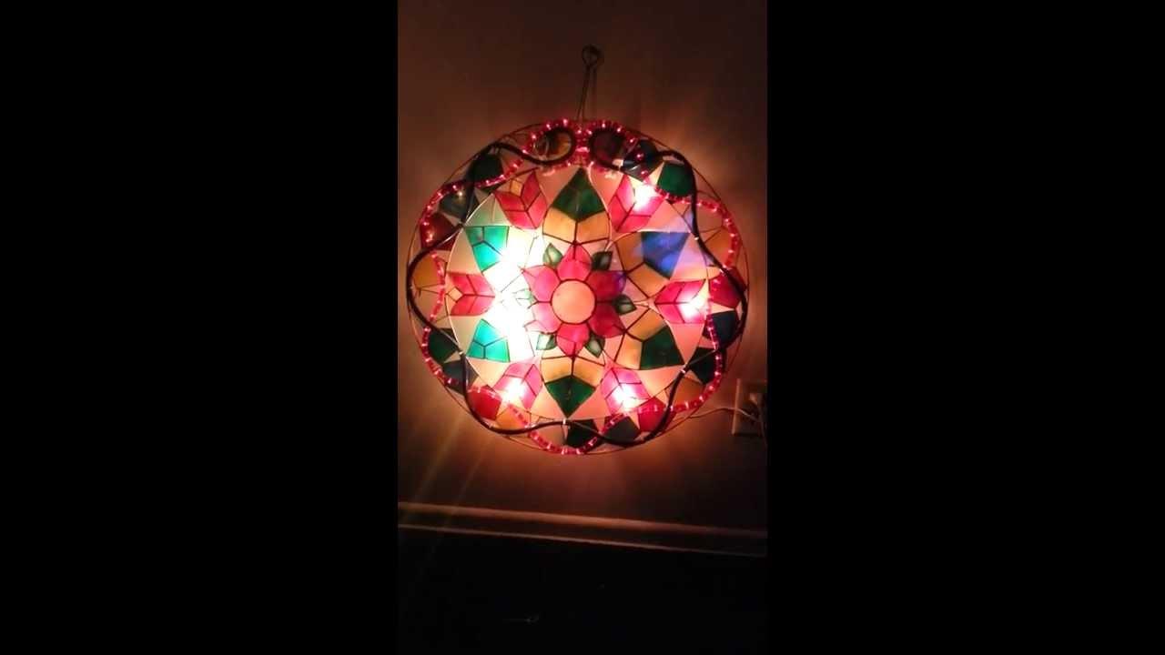 Filipino parol for sale in america - For Sale Stariray Christmas Lantern Parol Capiz Flower Christmas Ropelights