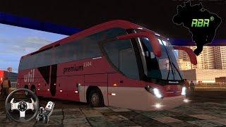 Euro Truck Simulator 2 - Onibus Mascarello Roma 370 Mapa RBR ► Logitech G27 +(Download)