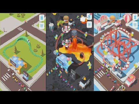 Idle Roller Coaster - All Rollers [Max Level]