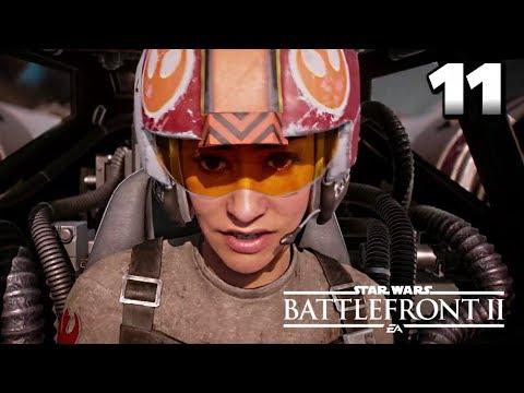 STAR WARS Battlefront II Gameplay Walkthrough Part 11 · Mission: The Battle of Jakku (Campaign)