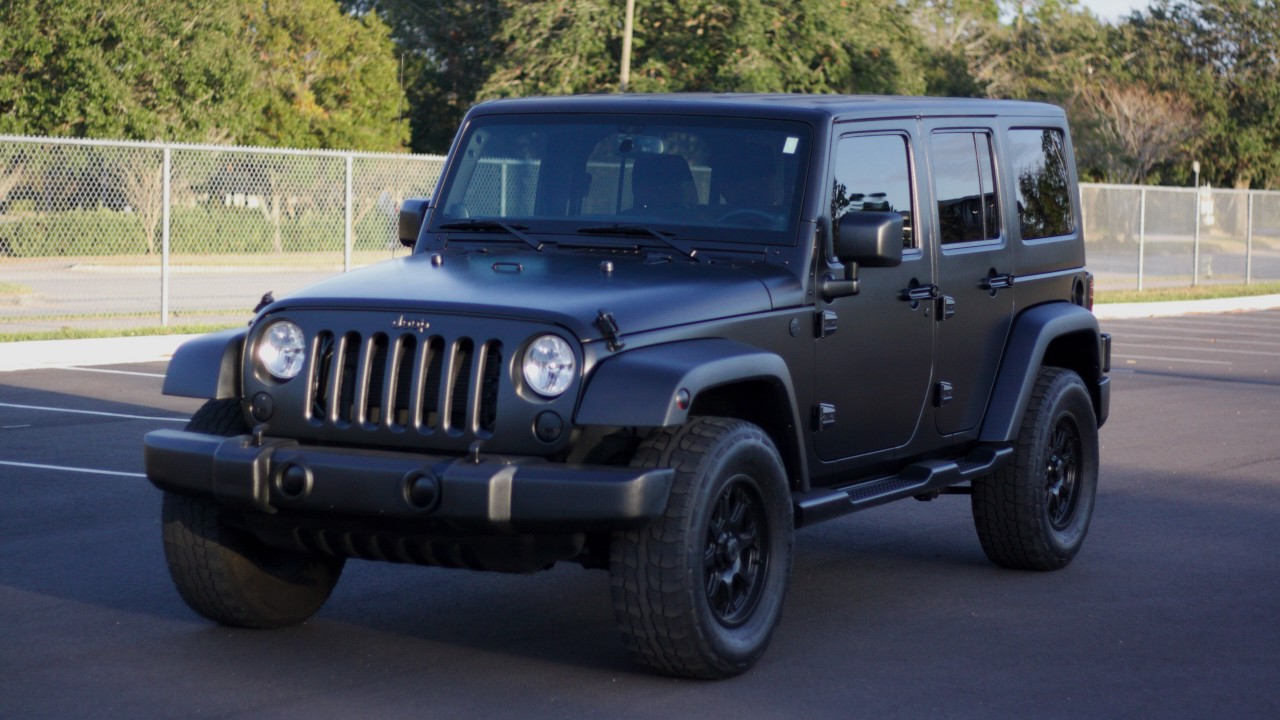 Matte Black Jeep Wrangler Raail Airwrap Youtube