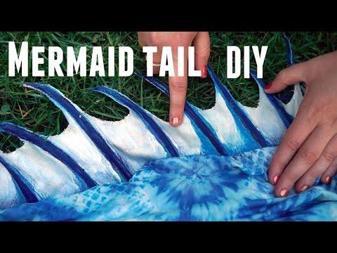 How To Make Mermaid Diy
