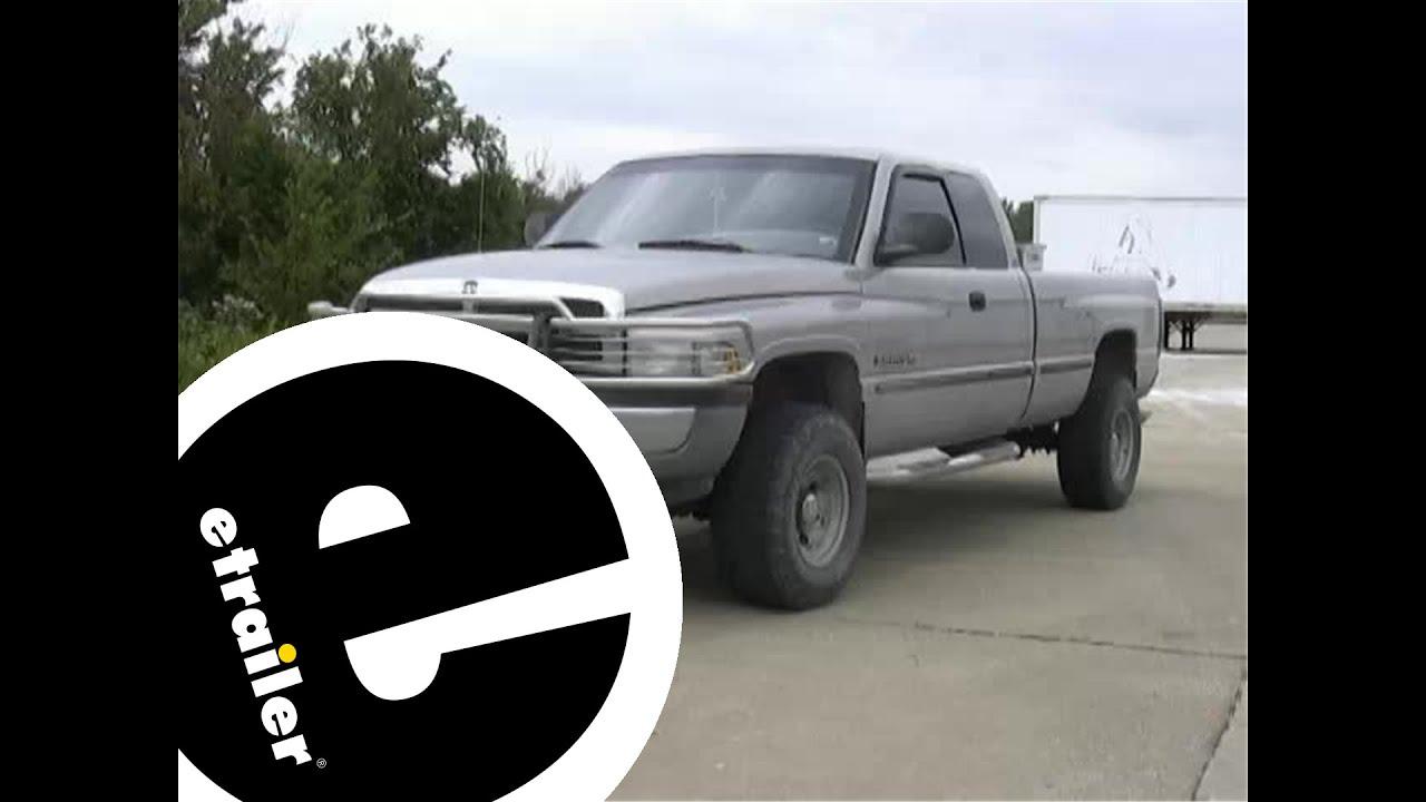 Trailer Brake Controller Installation 1999 Dodge Pickup Etrailer Wiring Etrailercom