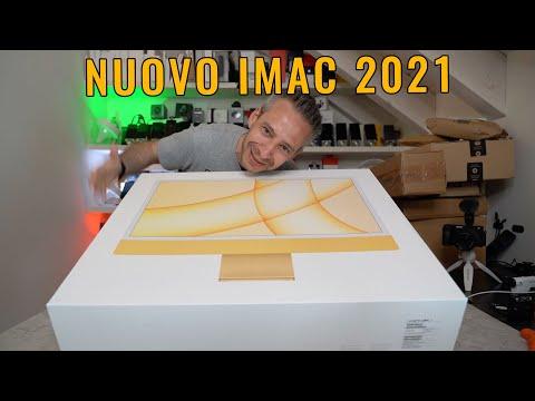 Unboxing iMac 2021 e NUOVA SCIMMIA!