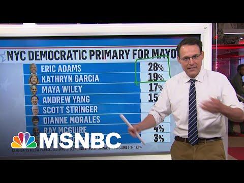 Kornacki Breaks Down New York City's Ranked Choice Voting Experiment