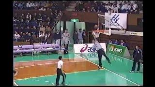 能代工業 試合前 アップ ダンク [basketball]