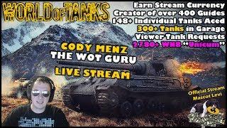 World of Tanks Live Stream [WoT Guru] [English - NA] [373 Tanks] [Viewer Tank Requests] 02/23/2018