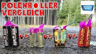 WELCHER POLENBÖLLER IST AM BESTEN? DUM BUM vs. FP3 vs. LA BOMBA vs. BOMB