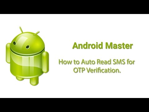 How to Auto Read SMS in Android - YouTube