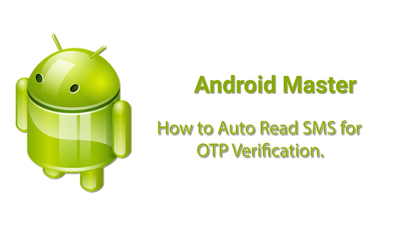 How to Auto Read SMS in Android