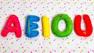 Las Vocales Español - A E I O U - Videos Educativos para Niños ♫ Divertido para aprender #