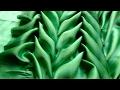 Smocking patterns #4 | leaves smocking tutorial for beginners (ENGLISH SUBTITLE)