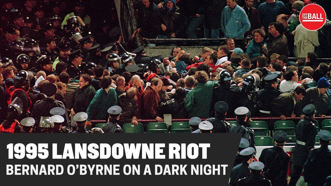 Lansdowne Road Riots, Dublin Ireland 1995