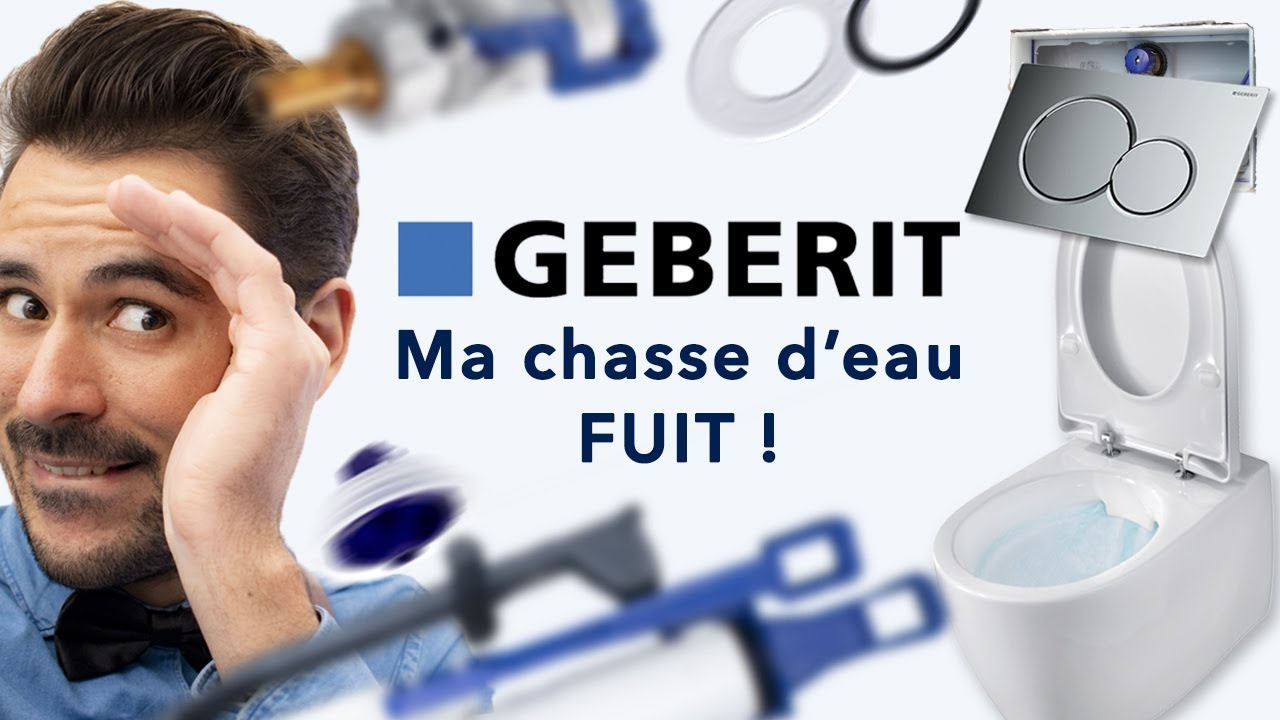 Repare Ta Chasse D Eau Geberit Wc Suspendu 1ere Partie Linstan Youtube