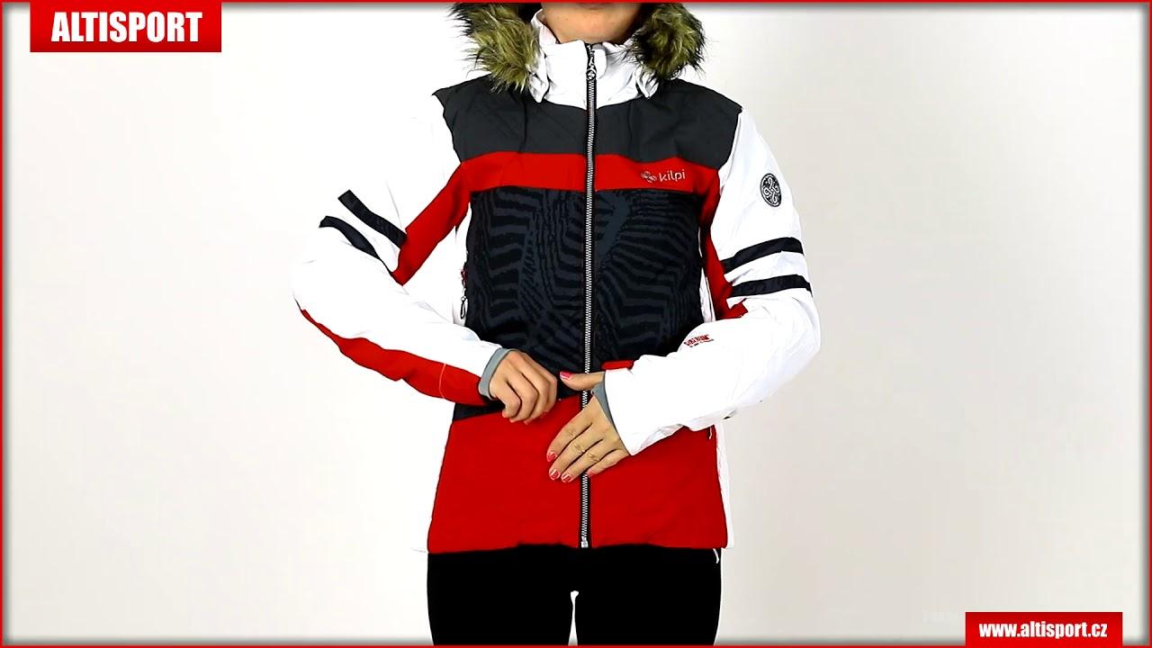 dámská zimní bunda kilpi lesia w hl0108ki červená - YouTube ee0efcdad1c