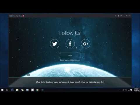 install nox app player on windows 7 / 8 / 10
