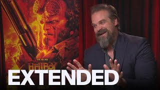 David Harbour On 'Hellboy' Costume, Fate Of Hopper In 'Stranger Things' | EXTENDED